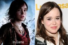 ellen page beyond two souls. Gaming engineering and graphics are getting so new high tech, if your gonna start doing that then please remake the kingdom hearts games! ^-^