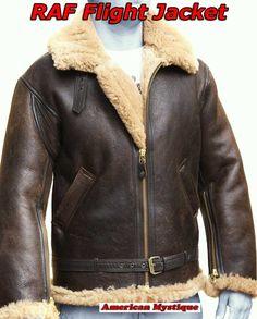 sheepskin bomber jacket - Google Search