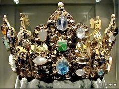 Reliquiary crown of Holy Roman Emperor Henry II, dating to the 13th or 14th century