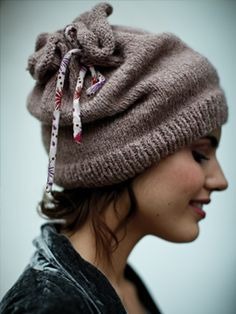 Snow Hat, can be converted to a neck warmer.  I love this  little hat.