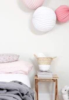 Chambre, lin+pastel...