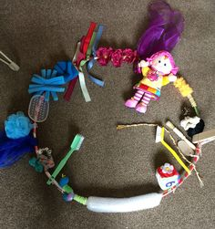 Sensory hoop, baby sensory