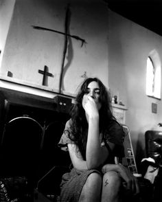 patti smith -lightning bolts and crosses