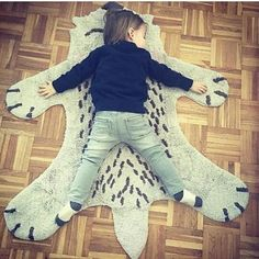 😍LITTLE FOX... #nattiot#tapis enfant#deco#renard#tapis lavable