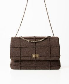 c063c0a0417d16 Labellov Chanel Identification Brown Flap Bag ○ Buy and Sell Authentic  Luxury