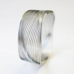 Arik Levy - Sculptural Stainless Steel Jewelry, Soraya Bracelet, now featured on Fab.