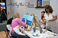 'Round the Rock: Art By the Glass Studio, wish my friends were here to do this w me:)