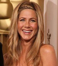 Jennifer Aniston - love her hair here.