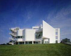 The Atheneum, New Harmony, Indiana  Richard Meier & Partners Architects