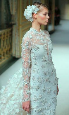 Georges Hobeika Alta Costura SS13 #Novias #Bodas #Bridal