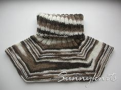 Basic Neckwarmer By Anna Hromova - Free Knitted Pattern - (ravelry)