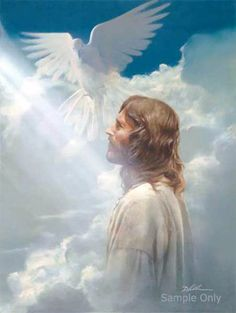 Image result for holy spirit jesus