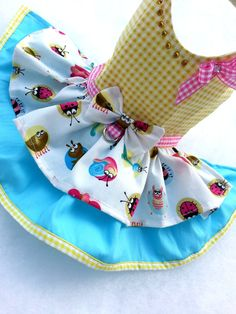 Vestido de ropa para perros pequeños por TeddyFaceDogClothes