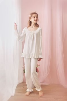 Sweet desire cotton royal style long sleeve women night suit fall in Night Suit For Women, Royal Fashion, Cotton Dresses, Night Gown, Pajama Set, Trendy Outfits, Clothes For Women, Womens Fashion, Fashion Fashion