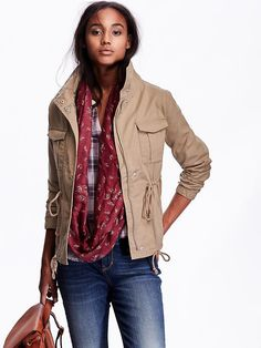 Women's Canvas Field Jacket Product Image