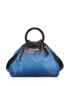 Hanging Round Medium Ring Tote Bag, Black Multi by MARC by Marc Jacobs at Neiman Marcus.