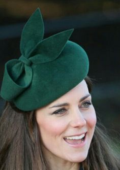 Kate in her Green Hat.