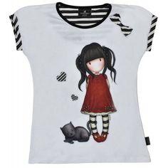 Tricou copii Gorjuss Ruby Mens Tops, T Shirt, Fashion, Supreme T Shirt, Moda, Tee Shirt, Fashion Styles, Fashion Illustrations, Tee