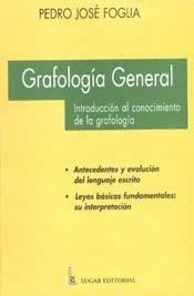 Libro recomendado sobre Grafología General de Pedro José Foglia