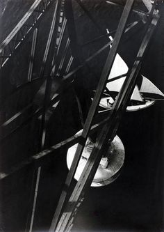 Laszlo Moholy-Nagy  view from pont transbordeur Marseille, 1929.
