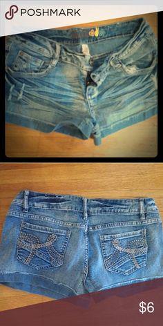 "Denim shorts Mudd brand jean shorts with a 3"" inseam Mudd Jeans"