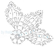 snowflakes crochet 65 schema