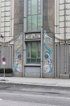 Berlin Art Nouveau Detail