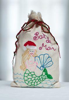 The perfect Thanksgiving hostess gift... Sal del Mar gourmet sea salt in a hand-embroidered bag.www.saldelmar.com