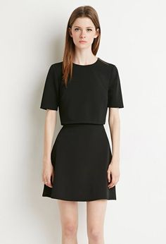 Layered Textured Dress | Forever 21 - 2000142753