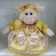 Cobre bolo - Porquinha