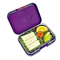 Yumbox Leakproof Bento Lunch Box Container (Figue Purple) for Kids and Adults Yumbox http://www.amazon.com/dp/B00NBB7V0W/ref=cm_sw_r_pi_dp_UPj.ub1B7P2QQ