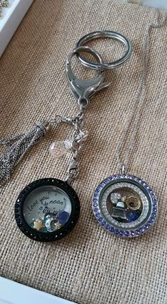 The all new bag-clip / keychain by Origami Owl. Available 8/18/15. Order with me at http://hootowllockets.origamiowl.com