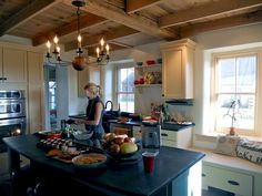 Kitchen Remodeled in a Clean, Country Style after image from the this old house reader remodel Best Kitchen Before and Afters 2014 winning entry