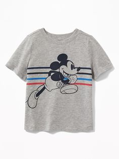 DISNEY X JUNK FOOD CLASSIC MICKEY MOUSE IVORY PINK TEE T-SHIRT SHIRT GIRLS 4T