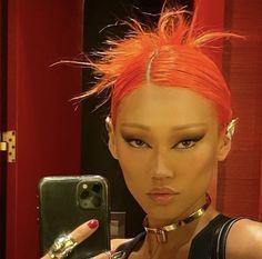 Skin Makeup, Beauty Makeup, Hair Beauty, Aesthetic Hair, Aesthetic Makeup, Cute Makeup, Makeup Looks, Estilo Grunge, Pretty Face
