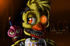 I'm Chica, Nightmare Chica. My best friends are Mangle & Foxy. I like Nightmare Foxy & Bonnie I scare children.not my favorite job. Five Nights At Freddy's, I Love You Drawings, Freddy 's, Scary Games, Fnaf Wallpapers, Fnaf Sister Location, Fnaf Drawings, Cute Eyes, Fan Art
