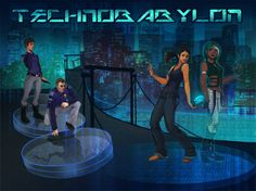 "Promotional poster image of Wadjet Eye Games' newest point and click adventure game ""Technobabylon,"" which is out for PC May 21."
