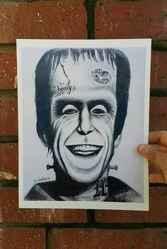 Check out this item in my Etsy shop https://www.etsy.com/listing/522300063/herman-munster-the-munsters-art-print
