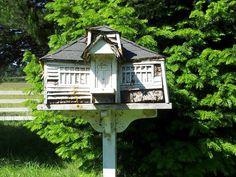 Birdhouse in the school yard at Pedee School/Pedee, Oregon