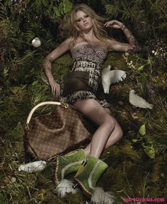 Lara Stone / Louis Vuitton - my favorite ad campaign in years!