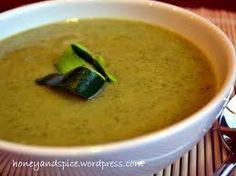 Cream of Courgette (Zucchini) Soup – Vegan Zucchini Soup, Cheeseburger Chowder, Vegan, Fruit, Ethnic Recipes, Food, Zucchini, Essen, Yemek