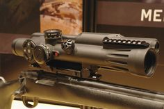 The Meprolight Meslas fire-controlled riflescope. (IHS/Nick de Larrinaga)