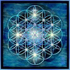 sacred geometry meets spiritual evolution- the flower of life.