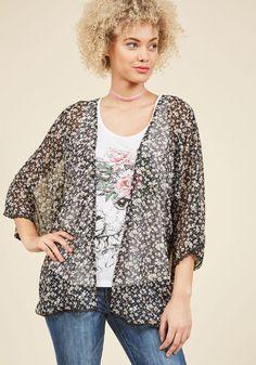 #ModCloth - #Compania Fantastica Compania Fantastica Tranquil Angle Kimono in S - AdoreWe.com