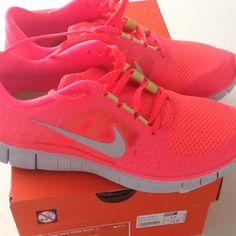 New! Nike Free. I'm so happy