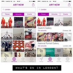 What art is on display in London? The free Art Now app tracks trending art on Instagram. Use it to plan your next visit to the museums. #museum #art #london #saatchigallery #saatchi #popart #alexanderkosolapov #nationalportraitgallery #graysonperry #nationalgallery #victoriaandalbertmuseum #chihuly #disobedientobjects