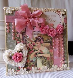Sent With Love ~ DIY Valentine collage picture