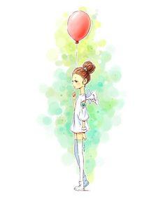Indrė Bankauskaitė,Balloon Girl