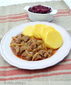 Hagymatokány vaddisznó hússal, puliszkával Ale, Meat, Food, Ale Beer, Essen, Meals, Yemek, Eten, Ales