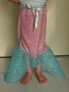 Simple Wrap-Around Mermaid Tail - Would be great for the dress up trunk
